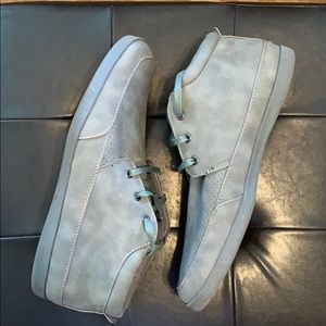 MENS STEVE MADDEN SIZE 12 HITTER LACE UP SNEAKERS